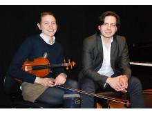 Camilla Hedner (violin) och Daniel Hormazabal Cortés (piano)