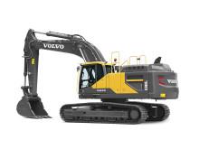 Volvo EC380E grävmaskin - frilagd