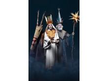 Julevæsner: Julebukken, Lucia og Fader Frost