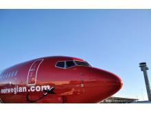 Front på Norwegian-fly
