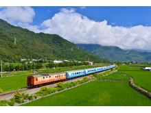 Train through Taiwan