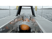 Hi-res image - Kongsberg Maritime - The team demonstrated the USV Maxlimer's unique ability to launch and recover a KONGSBERG HUGIN AUV