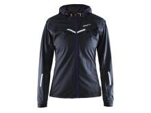 Weather jacket (women) i färgen black/dynasty/flourange