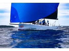 Hi-res image – YANMAR – The Melges IC37, an innovative amateur one-design class boat, is powered by the YANMAR 3YM20 Saildrive