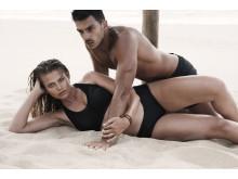Ronja Manfredsson under en Top Model-fotografering. Foto: Kanal 11