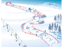 SkiStar fun slope