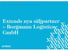 Extends nya säljpartner - Borgmann Logistics GmbH