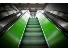 Rulltrappa tunnelbanan