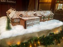 Gripsholms Värdshus som pepparkakshus