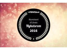 Nominerte årets nyhetsrom 2016