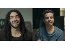 """Ramy Essam och Jason """"Timbuktu"""" Diakité"""