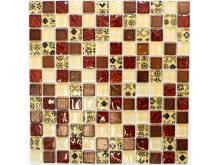 Mosaik Eventyr Fuglen Føniks 30x30, 1.148 kr. M2.