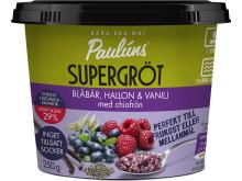 Paulúns Supergröt (kyld) - Blåbär, Hallon & Vanilj