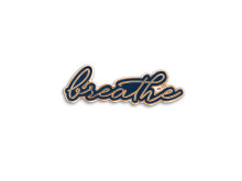 Yoga Girl Breathe pin