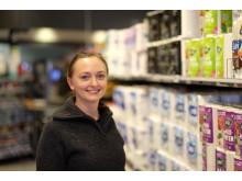 Eirill Søiland, miljørådgiver for dagligvarebutikker i Svanemerket