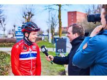 Ludvig F. Aasheim under Gent-Wevelgem 2018