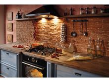 En emhætte til at forskønne og friske køkkenet op