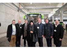Die Verantwortlichen des Projekts 'Fernbus-Terminal Hbf Leipzig'