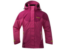 Evje Girl Jacket: Hot Pink/Cerice/Citrus