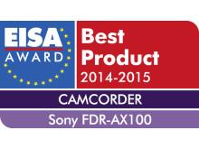 EISA Award 2014_FDR-AX100 de Sony