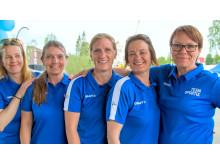 Initiativtagare och arrangörer: Anna-Karin Sundberg, Annelie Eklöw, Camilla Andersson, Anna Lundström och Kaisa Sandström.