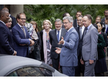 Audi-CEO Rupert Stadler presented piloted driving concept to the G7 Secretaries of Transportation