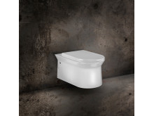 Cono wc-vagghangd matt vit