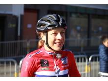 Vita Heine under sykkel-VM i Bergen