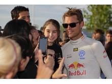 Andreas Mikkelsen porträtt Rally Portugal