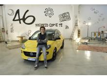 Valentino Rossi ny varumärkesambassadör för Opel ADAM