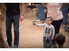 Från workshop med barn och vårdnadshavare