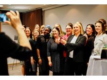 Satsningen Årets unga ledande kvinna syftar till att lyfta fram fler ledarförebilder.