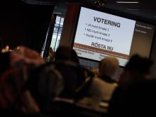 Kyrkomötet - votering
