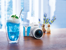 Pentax K-S1 Sweet Collection, Blue Cream Soda