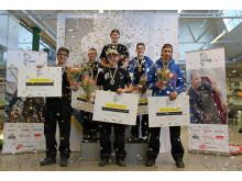 Alla finalister i SM för unga plåtslagare 2017