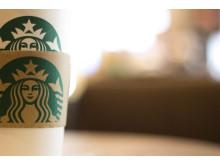 Starbucks to go mugg
