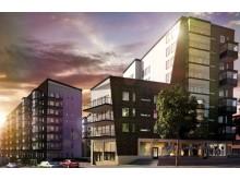 Kvarteret Backen, Sjövik 5, SWECO Architects