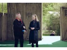 Hans Marklund och Lotta Olsson