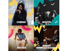 Malmöfestivalen artistsläpp #3