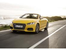 Audi TT vegas gul