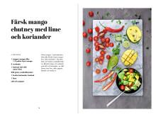Färsk mango chutney med lime och koriander från Yogaköket