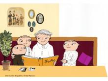 Högläsning och läsnig står i fokus då Alfons Åbergs Kulturhus arrangerar en egen Minibokmässa.