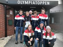 Snow Team Trysil besøket Olympiatoppen