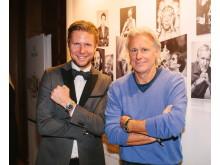 Olof Larsson och Björn Borg