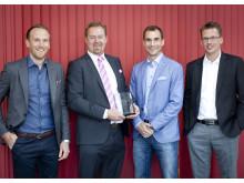 ESYLUX vinnare av Energismart Awadrs 2013