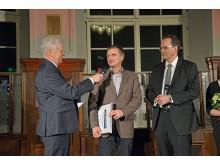 Der dritte Platz in der Kategorie Persönlichkeiten ging an Rüdiger Pusch, ehemaliger Geschäftsführer des Krystallpalast Varieté