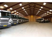 Kviklevering til DK Logistik