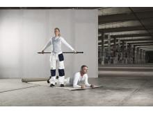 """Aktivitetsappen """"Nordsjö Pro Activity""""  innehåller stärkande och förebyggande övningar för yrkesmålaren."""