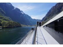На борту катамарана Future of The Fjords