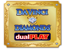 DaVinci Diamonds slot at Vera&John Casino